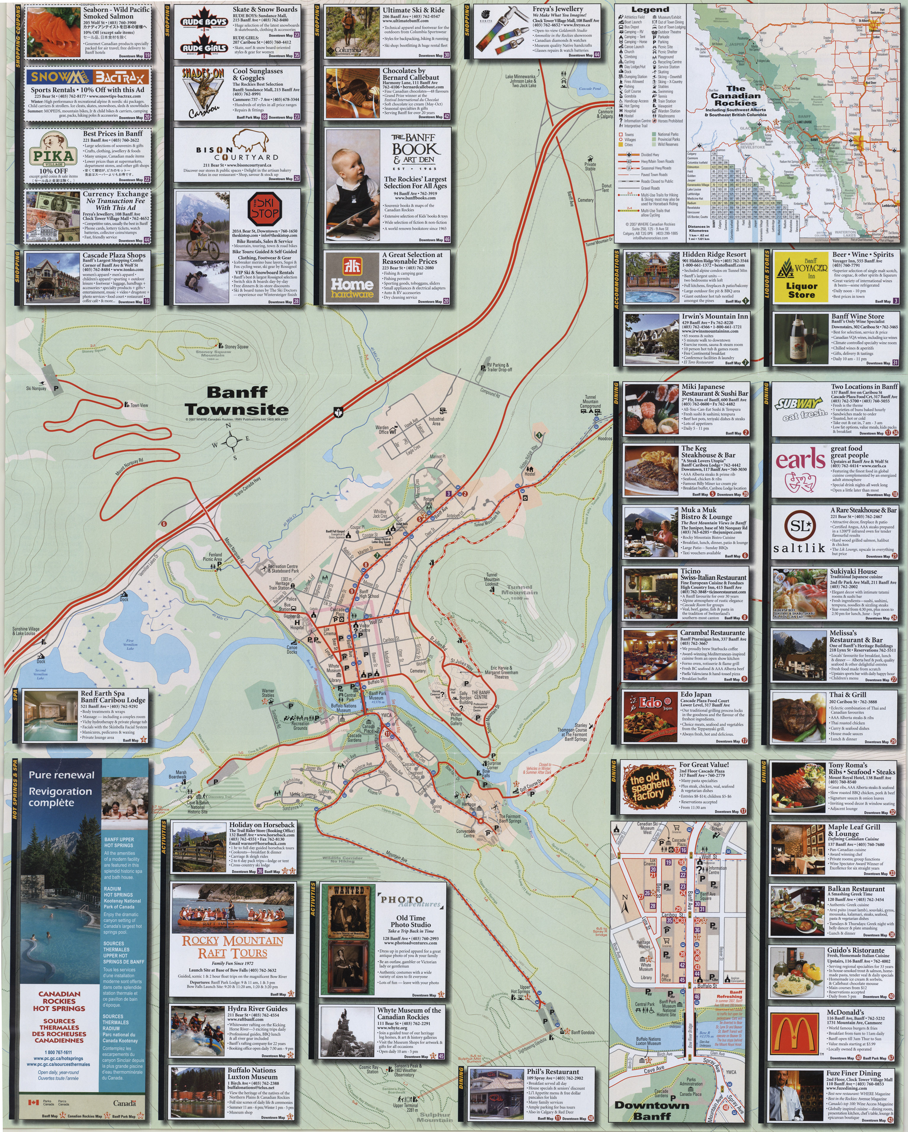 Maps And Directions: National Park Maps