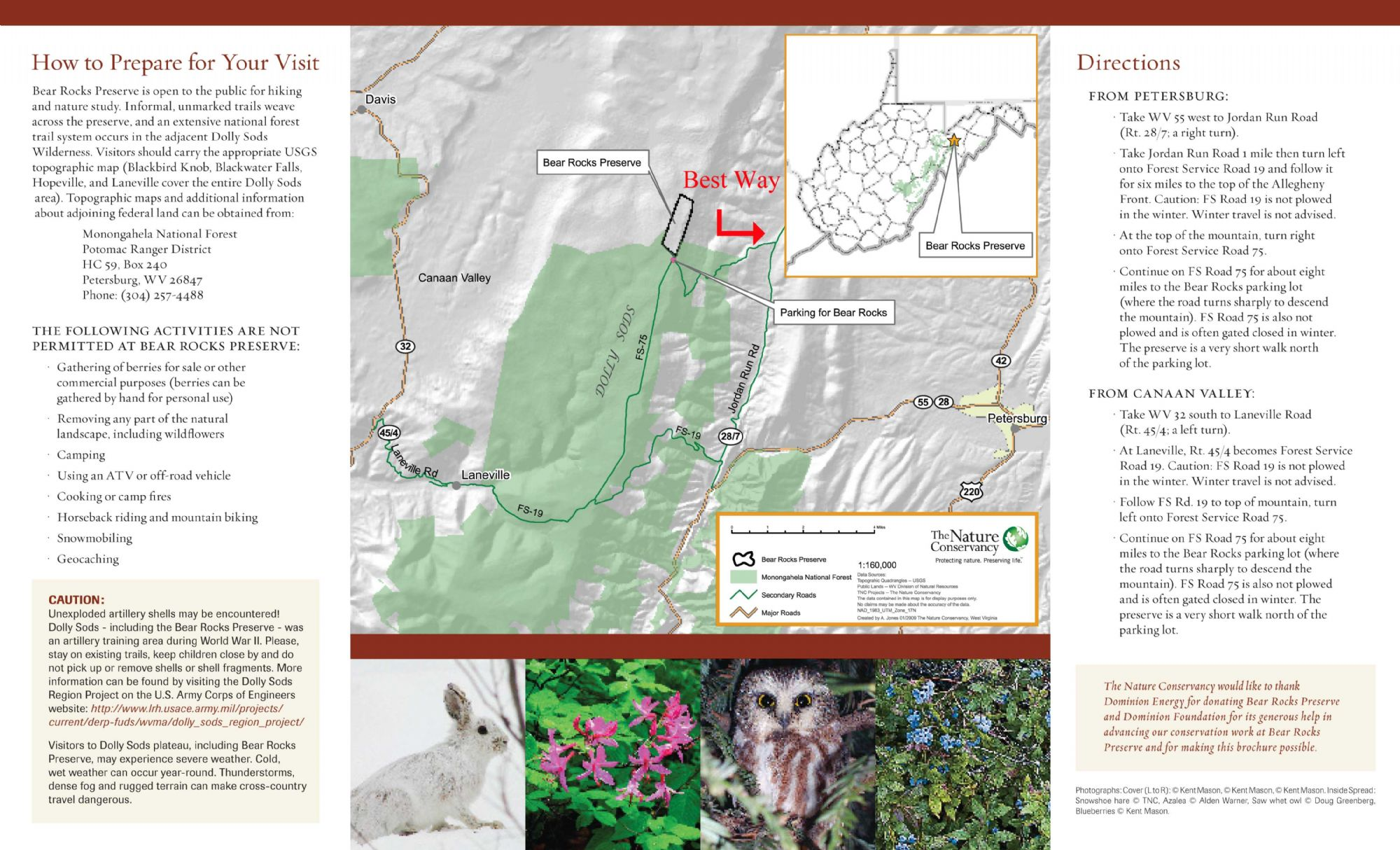 Dolly Sods Wilderness and Bear Rocks Photo Locations and Hiking ...